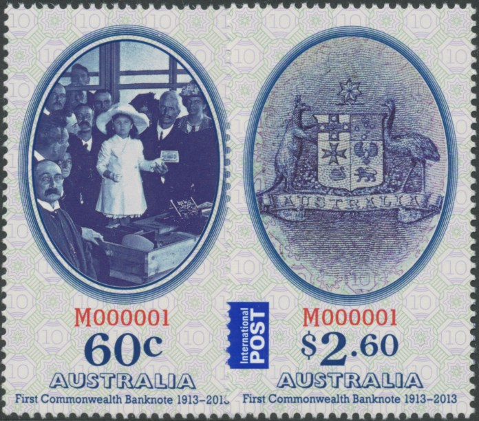 2013: Centenary of the First Australian Commonwealth Banknote Set of 2