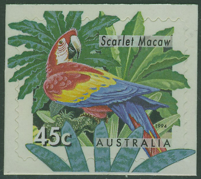 1994: SG SB86 $4.50 Zoos Booklet containing SG1485b