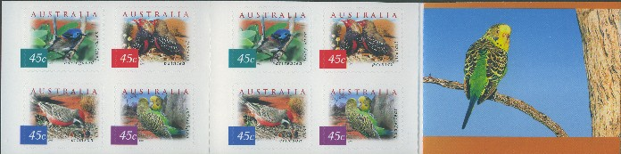 2001: SG2130c Fauna and Flora (4th series): Desert Birds booklet of 20