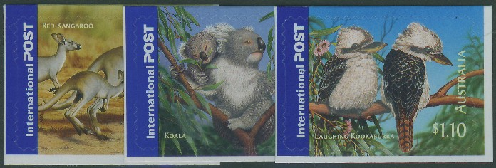 2005: SG2527-9 International Stamps: Bush Wildlife self-adhesives set of 3