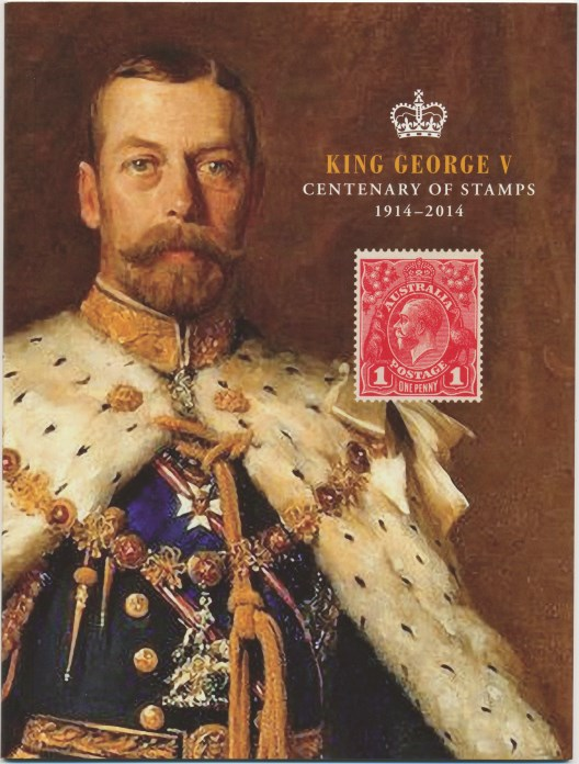 2014: 100th Anniversary King George V Stamps Australia Prestige Booklet
