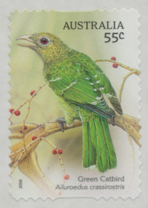 2009: SG3274 Australian Songbirds self-adhesive from roll