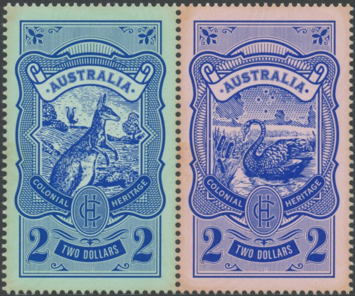 2011: SG3632a Colonial Heritage: Emerging Identity pair