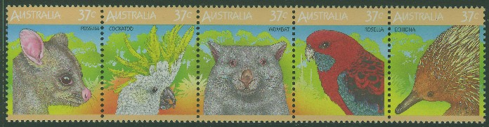 1987: SG1072a Wildlife strip
