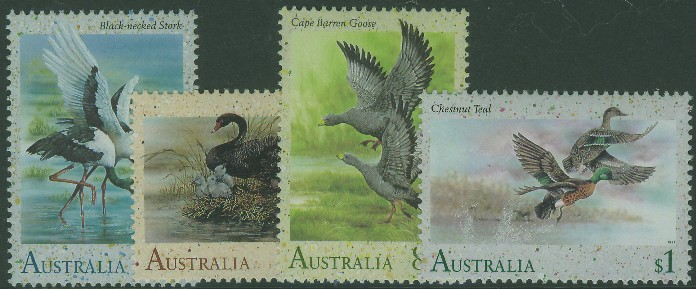 1991: SG1279-82 Waterbirds set of 4