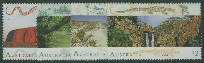 1993: SG1392-5 World Heritage Sites (1st series) set of 4