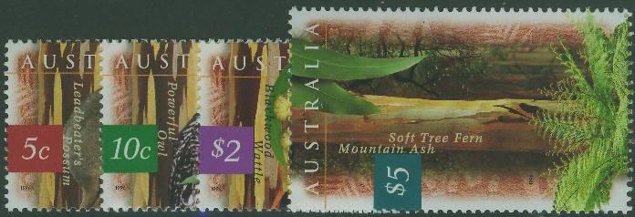 1996: SG1622-5 Fauna and Flora (1st series) set of 4