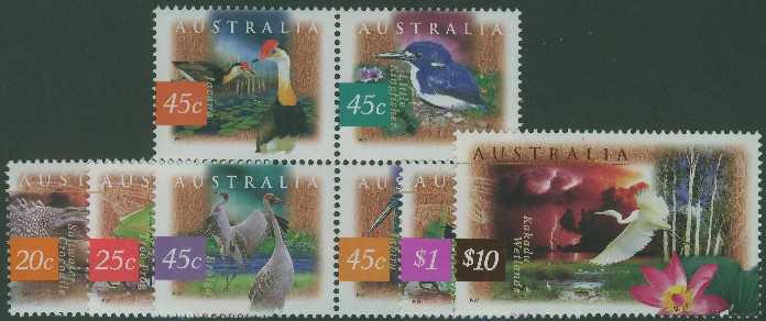 1997: SG1679-86 Fauna and Flora (2nd series) set of 8