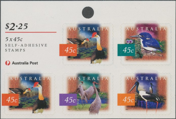 1997: SG1687b Fauna and Flora (2nd series) sheetlet of 5