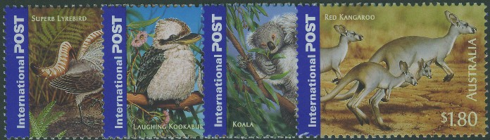 2005: SG2523-6 International Stamps: Bush Wildlife set of 4