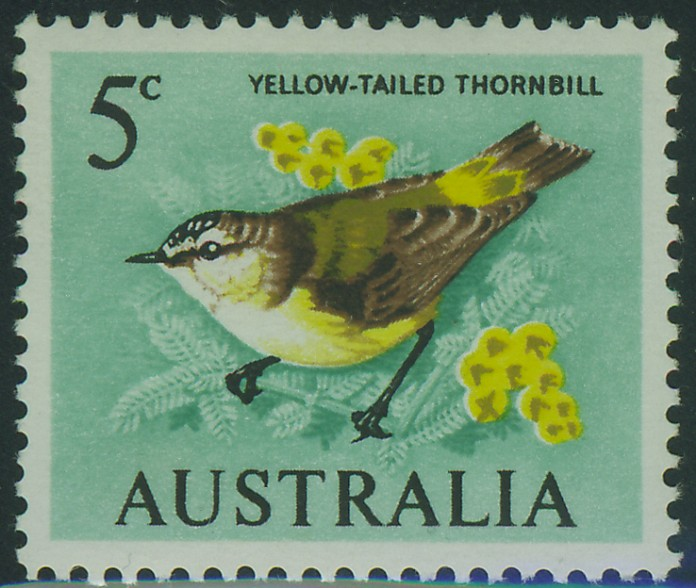 SG386 5c Thornbill Bird (emerald)