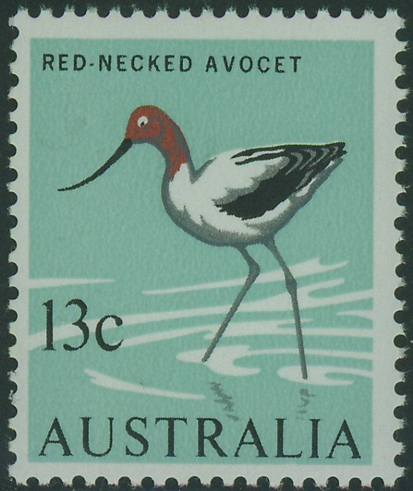 SG392 13c Red-necked Avocet