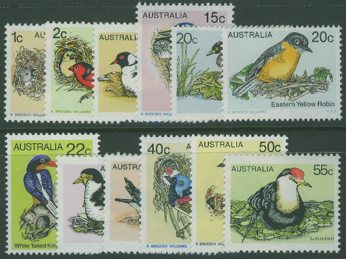 1978-80: SG669-80 Birds 1st Series set of 12