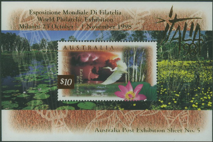 1997: SGMS1686 Fauna and Flora (2nd series) with Italia 98 overprint