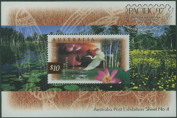 1997: SGMS1686 Fauna and Flora (2nd series) with Pacific 97 overprint