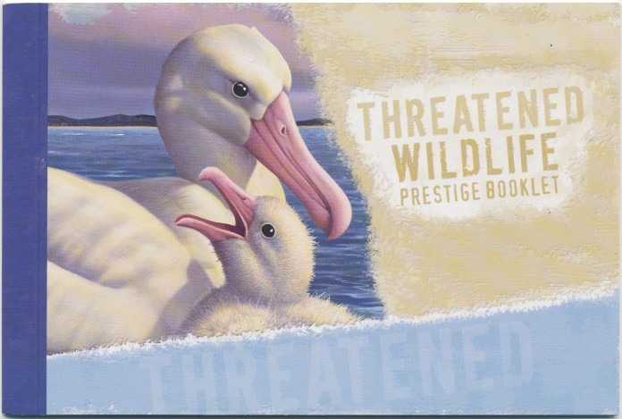 2007: Prestige Booklet SG SP129 $10.95 Threatened Wildlife