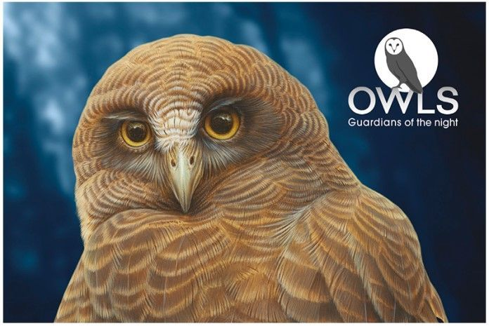 2016: Owls of Australia prestige booklet