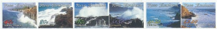 New Zealand Stamp Rewards SR53 (SG2510-5) 2002 scenic strip of 6