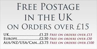 Free Postage in the UK on Orders over £15