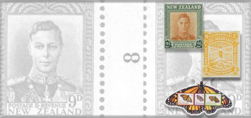 New Zealand Stamps, Stamps from New Zealand