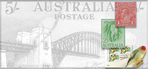 Australian Stamps, Stamps from Australia