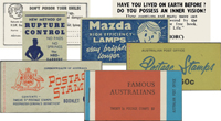 Australian Advertising Booklets
