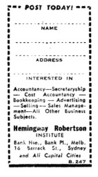 ASCS Advert No.15a