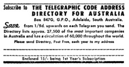 ASCS Advert No.21a