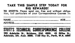 ASCS Advert No.81a